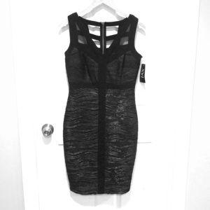 Black/Silver Party Dress by Jax